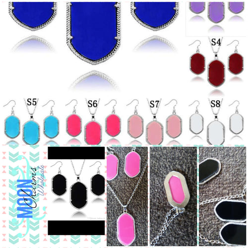Earring blank set