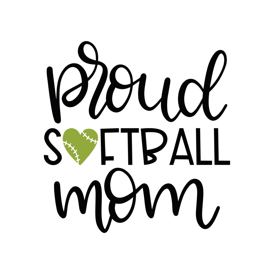 Free. Proud Softball mom