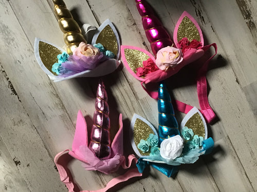 Baby unicorn bows