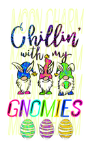 Load image into Gallery viewer, Chillin with the gnomies graphic shirt