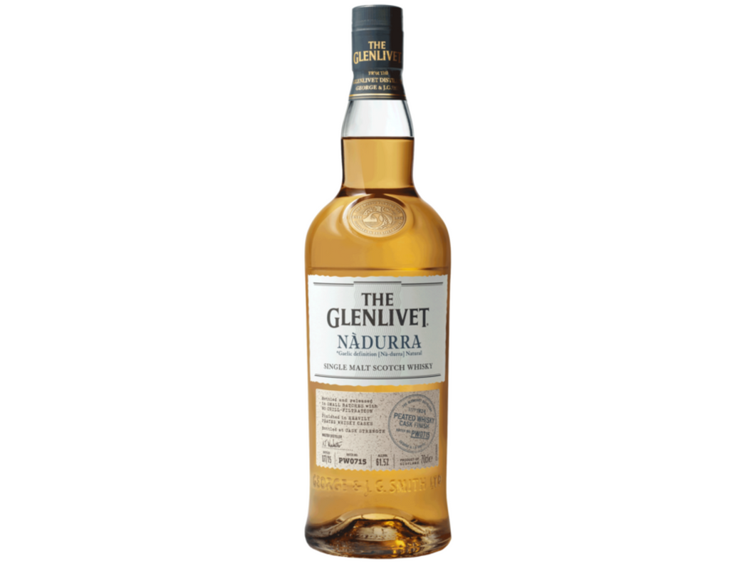 The Glenlivet Nadurra Peated Cask Finish Whisky 700ml