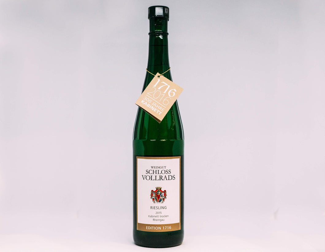 Schloss Vollrads Vineyard, Edition 1716, Reserve Dry Riesling, 2015
