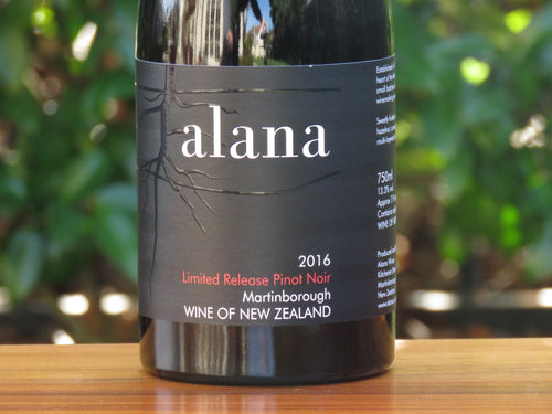 Limited Release Pinot Noir, 2016