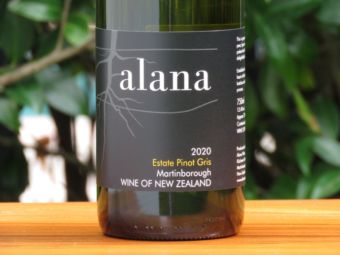 Alana Pinot Gris, 2020 (Just Released)
