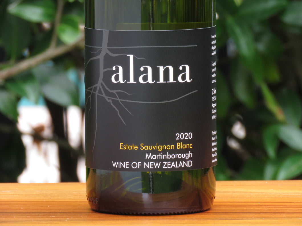 Alana Sauvignon Blanc, 2020 (Just Released)