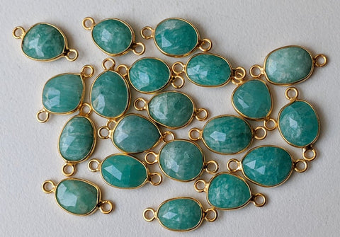 Natural Amazonite Big Stones Shape Fancy Size 56x38x9 MM Weigh 110.00 Carat Fancy Stones For Fancy Jewelry