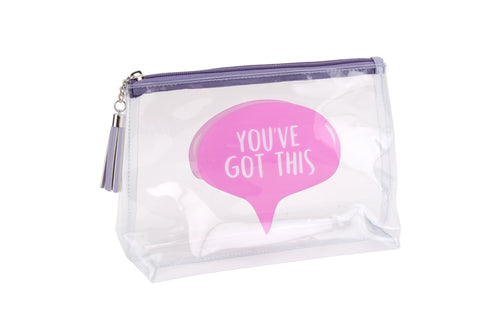 Gym and Tonic Speech Clear Got This Wash Bag