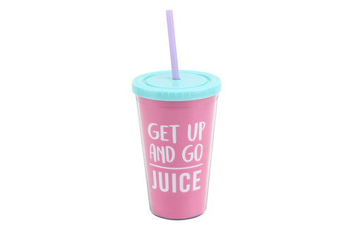 Gym and Tonic Get Up and Go Travel Cup