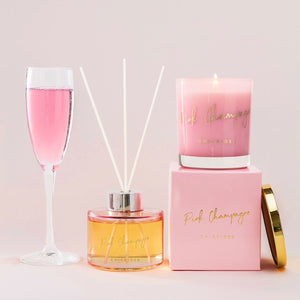 Pink Champagne Glass Diffuser 200ml