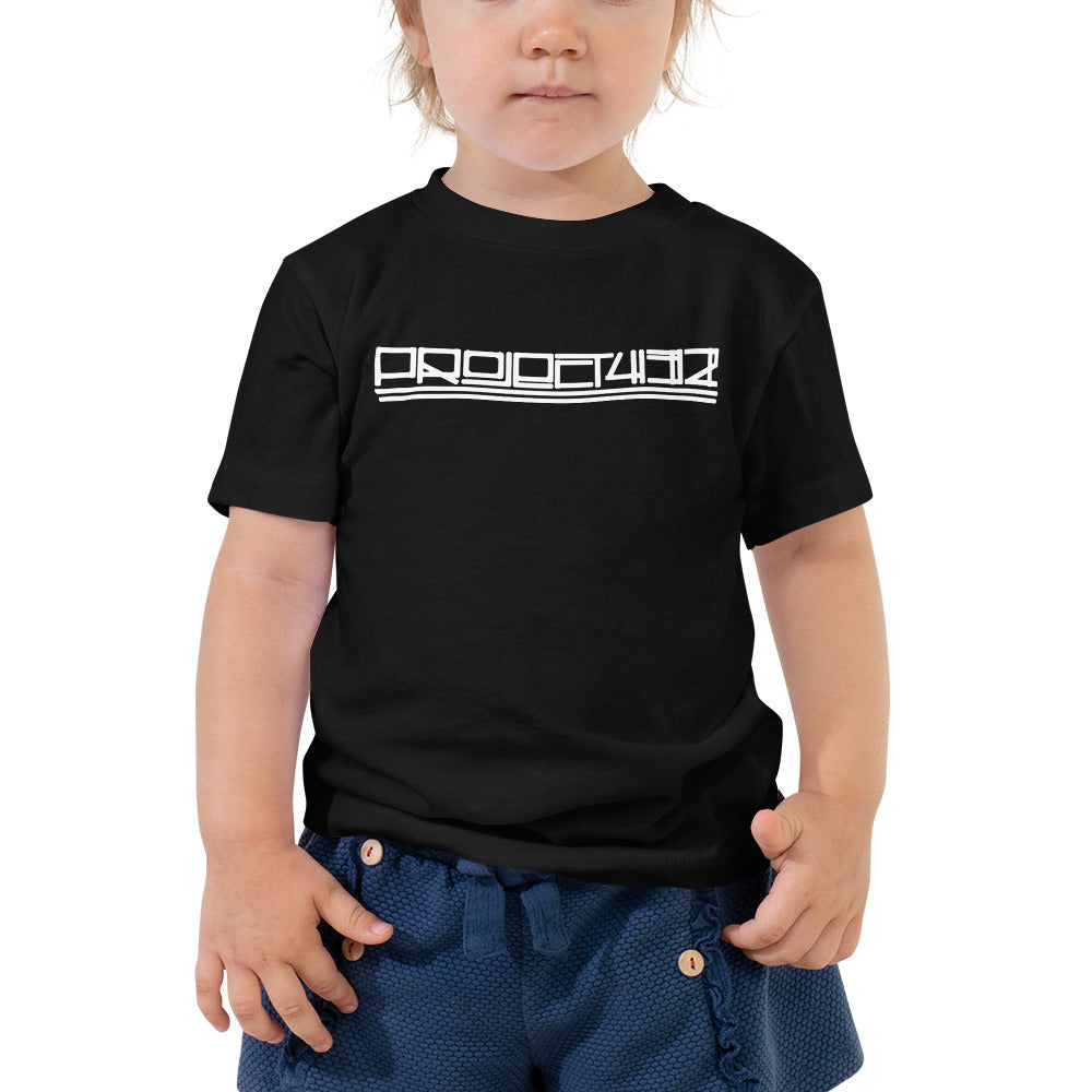 Toddler Project 432 Font Short Sleeve Tee