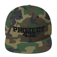 Load image into Gallery viewer, Puffy Print Logo Snapback Hat