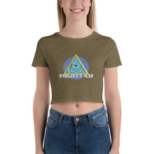 Load image into Gallery viewer, All Seeing Eye Women's Crop Tee