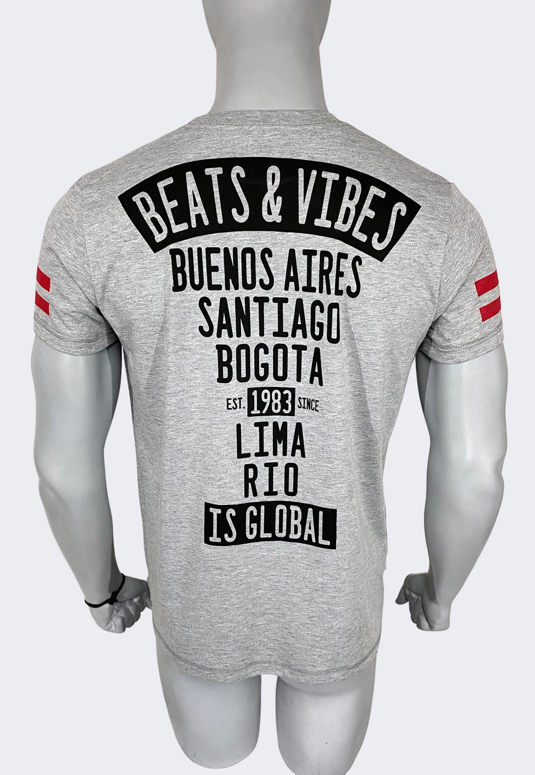 Polo Hombre Beats iS Global 2.0 - Gris