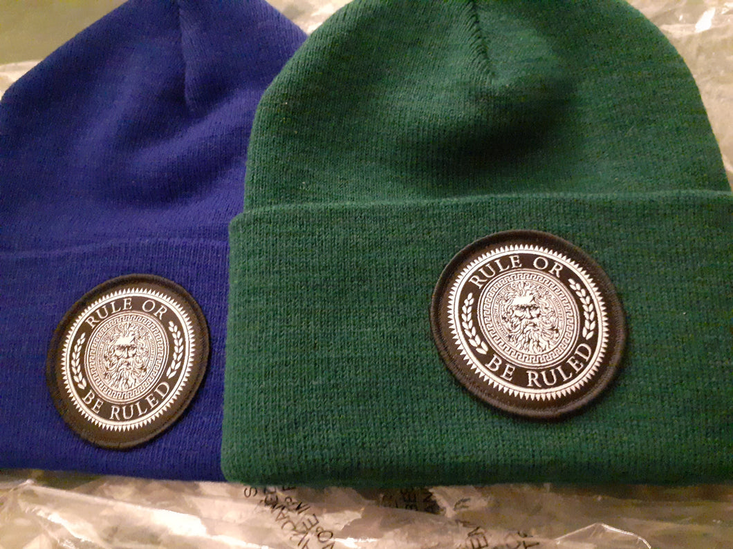 ROBR Patch Beanies
