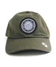 Load image into Gallery viewer, Rule or be Ruled Patch Dad Hat
