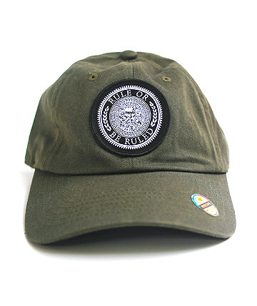 Rule or be Ruled Patch Dad Hat