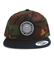 Load image into Gallery viewer, Camo Patch Snapback