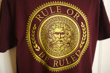 Load image into Gallery viewer, LIMITED EDITION GOLD SPARK Rule Or Be Ruled Shirt