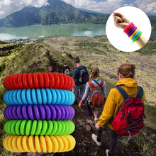 Load image into Gallery viewer, Mosquito Repellent Bracelet's 2019 up to 250 hours of protection. No Deet