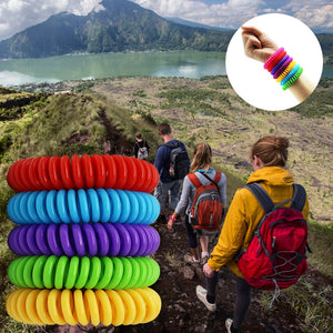 Mosquito Repellent Bracelet's 2019 up to 250 hours of protection. No Deet