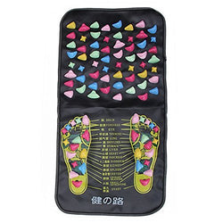 Foot Massager Reflexology Walk Stone Leg Massaging Mat