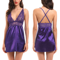 Nightwear Chemise Soft Lounge Costume Outfit Women