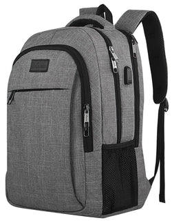 Travel laptop backpack,Business Anti Theft with USB charging Port
