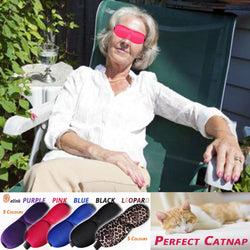 Eye Mask Soft 3D Padded Comfort - Ideal for Seniors - Sleep Anywhere Anytime