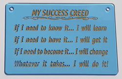 My Success Creed