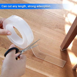Nano Magic Tape Double-side Adhesive  Transparent 1/3/5 Mtr