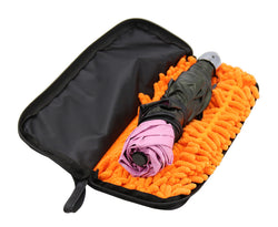 Umbrella Storage Bag with Superfine Fibres  Cleaning Cloth Waterproof Case -(Umbrella NOT included)