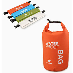 Camping hiking PVC 2 Ltr waterproof bag for Camping - Dry Bags
