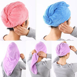 Head Wrap Hair Drying Towel