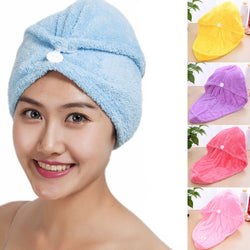 Quick Dry Bath Head Wrap Hair Drying Towel