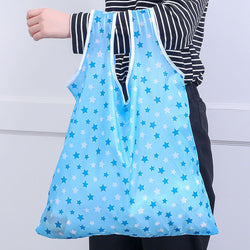 Shopping Bag Portable Large Nylon Thick - Reusable Convenient
