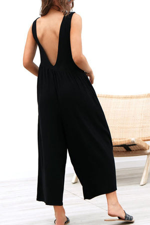 Zeewer Casual Vest Jumpsuit(4 Colors)