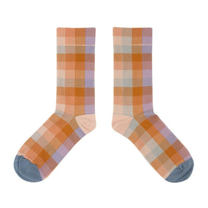 Zeewer Muiticolor Plaid Socks