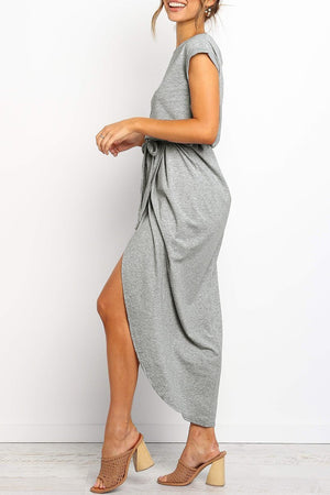 Zeewer After Midnight Ankle Length Dress(4 Colors Extra Offer)