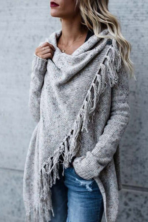Zeewer Autumn & Winter Shawl Coat