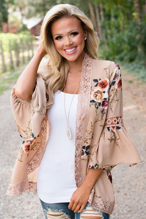 Zeewer Floral Lace Jacket