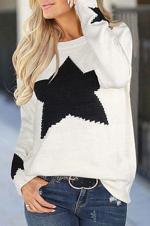Zeewer Star Shaped Sweater 3 Colors