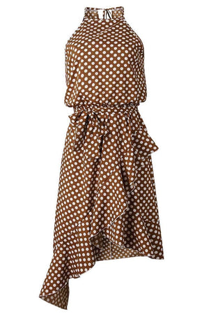 zeewer Irregular Polka Dot Dress (3 Colors)