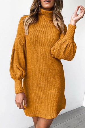 Zeewer O Neck Autumn Sexy Dress