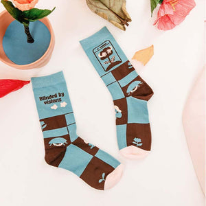 Zeewer Illustration Pattern Socks