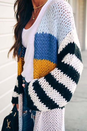 Zeewer Knitted Cardigan Sweaters
