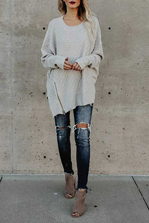 zeewer Off Shoulder Sweater