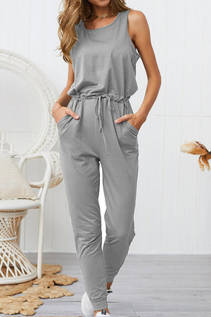 Zeewer Women's Casual High Waist Jumpsuit(4 Colors)