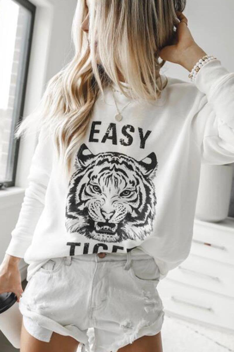 Zeewer Easy Tiger Sweatshirt