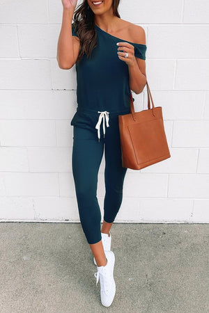 Zeewer One Shoulder Jumpsuit