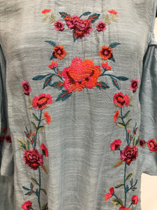 Cold- Shoulder Floral Top
